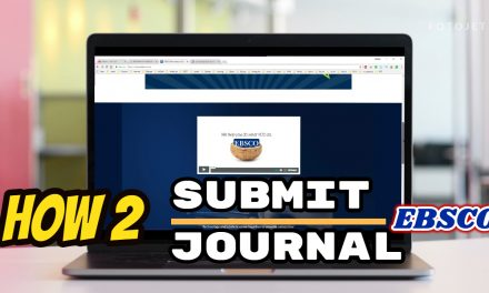 Submit Jurnal ke pengindex jurnal EBSCO