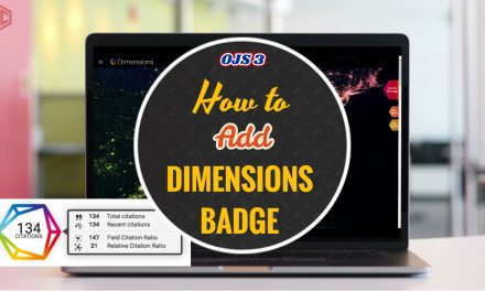 Membuat Dimension Badge OJS 3